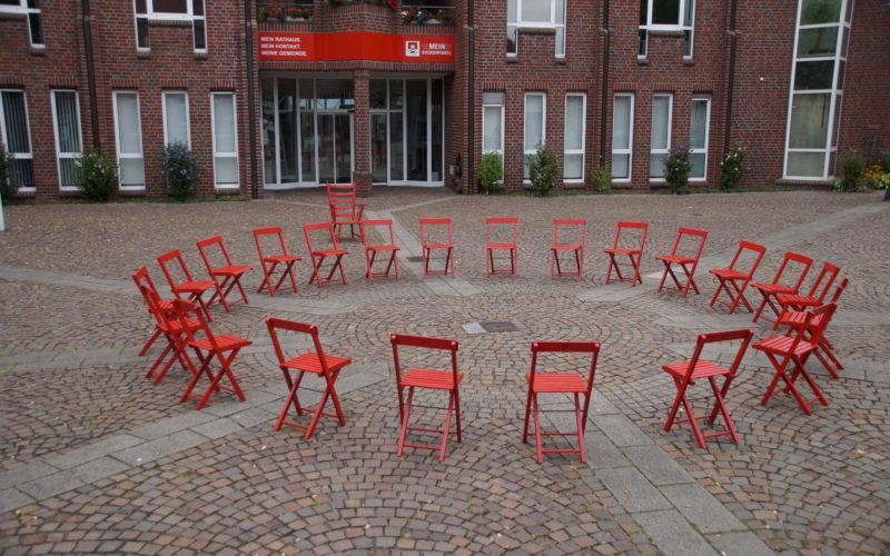 Kommunalwahl 2020 – GEMEINSCHAFT – Eine Installation des Künstlers LUPUS