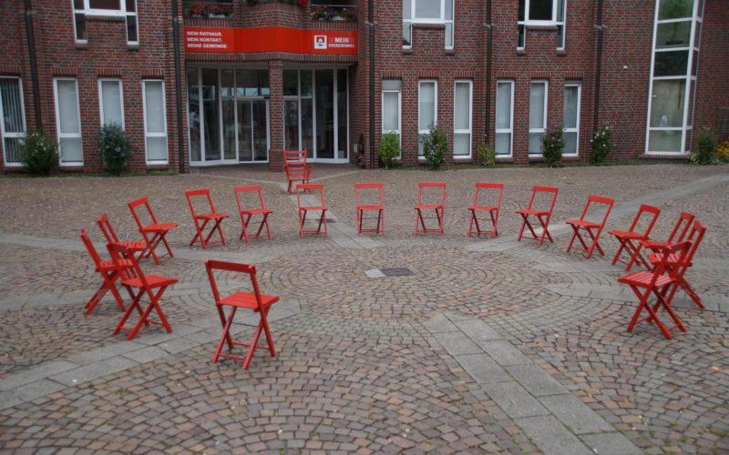 Kommunalwahl 2020 – OFFENHEIT – Eine Installation des Künstlers LUPUS