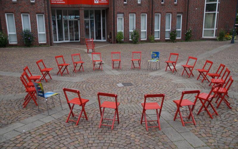 Kommunalwahl 2020 – Integration/Inklusion – Eine Installation des Künstlers LUPUS