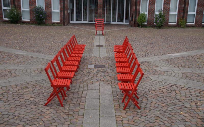 Kommunalwahl 2020: DIALOG – Eine Installation des Künstlers LUPUS