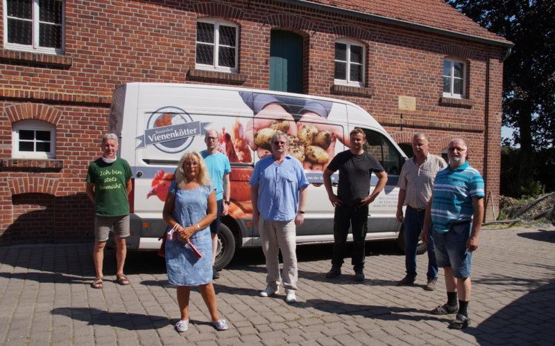 SPD-Mitglieder besuchen Hof Vienenkötter in Everswinkel